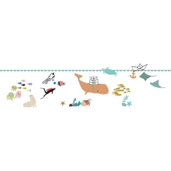 MIMI 'lou muurstickers zeedieren 5 m