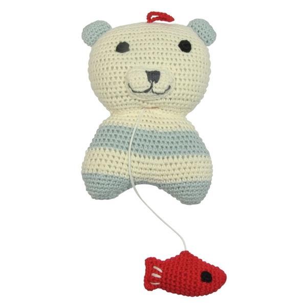 Franck & Fischer muziekdoosje Smilla ijsbeer
