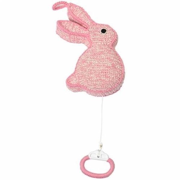 Anne Claire Petit muziekdoosje konijn roze