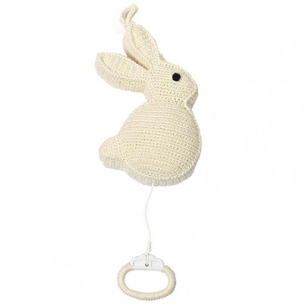 Anne Claire Petit muziekdoosje konijn wit