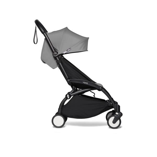 Babyzen | YOYO 6+ Buggy - Frame Zwart - Color Pack Grey ...